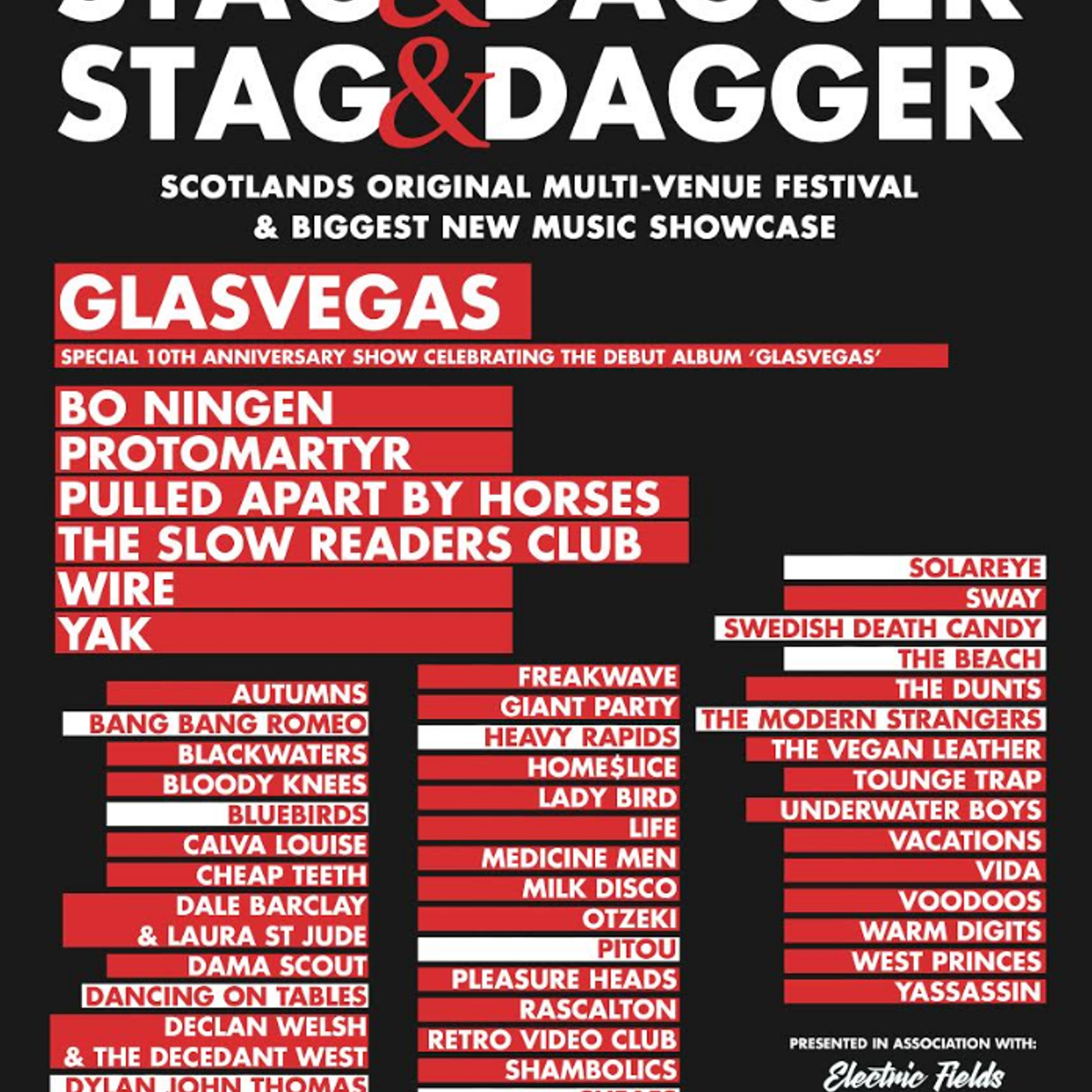 pcl presents stag dagger at nice n sleazy glasgow on 06 may 2018