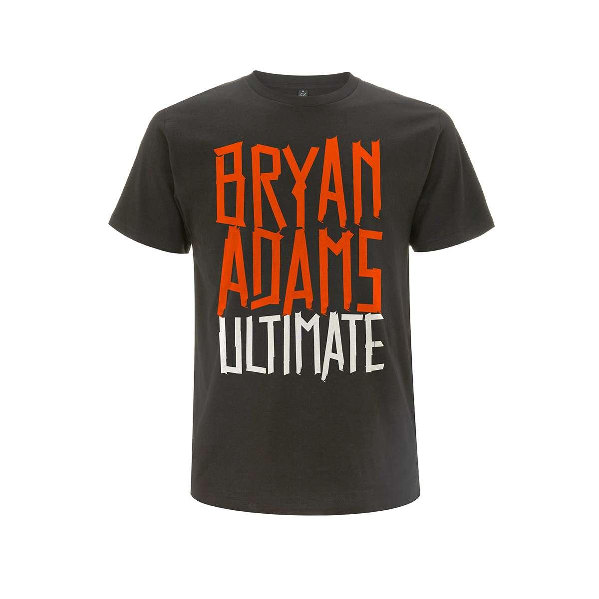 Adams Type Bryan Tape Grey Date Tee Logo Back Charcoal f7bgmI6yvY